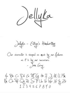 jellyka font download
